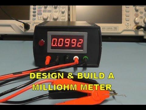 Scullcom Hobby Electronics #31 - Design & Build a Milliohm Meter