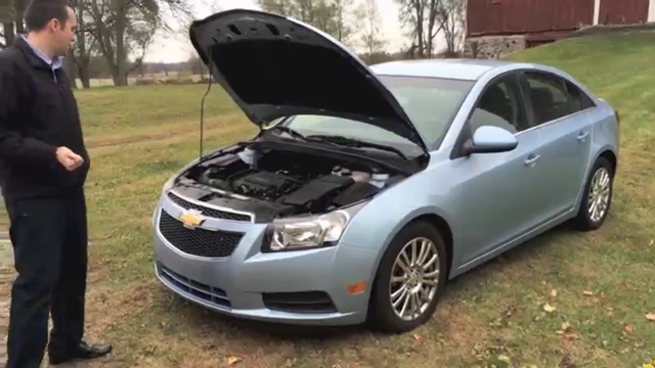 P0013 Chevy Cruze Exhaust Camshaft Position Actuator on