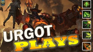 Las MEJORES Jugadas con URGOT | URGOT Montage - Best URGOT Plays | League of Legends 2019