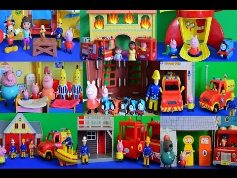 10 New Fireman Sam Peppa Pig Mickey Mouse Clubhouse Episodes Compilation Play-Doh WOW