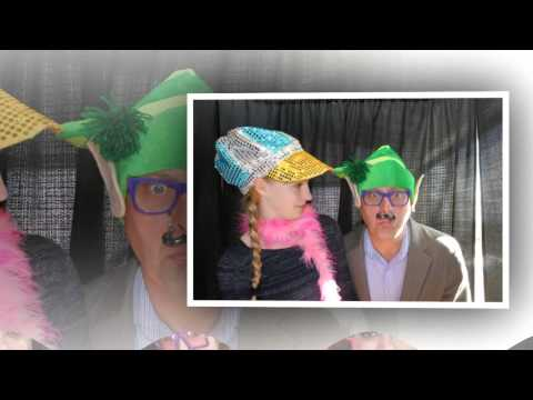 Wrigley Mansion Holday Party Photo Booth Pictures