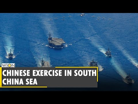 China's Shandong aircraft carrier conducts military exercise in South China Sea   US   Navy Ships