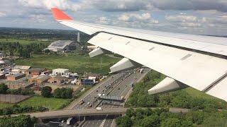 London landing from Bogota Colombia   BOG-LHR   Avianca   Airbus 330-200