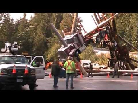 Man of Steel  - Incredible Logging Truck Set - Behind the Scenes