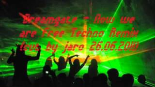 Dreamgate - Now we are free Techno Remix(cut by jaro 26.06.2011).avi