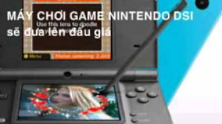 Máy chơi GAME NINTENDO DSI.- VBID.vn - Website đấu giá: