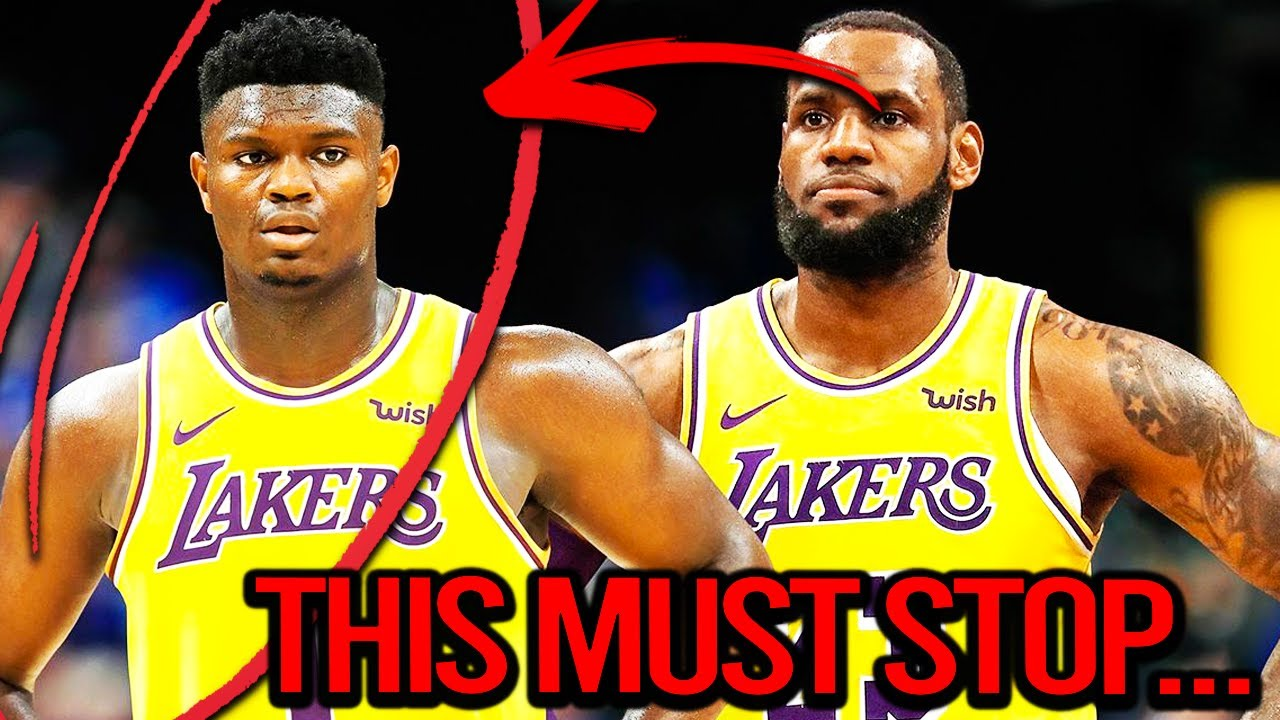 Zion Williamson Leaving The New Orleans Pelicans is Where I Draw The Line