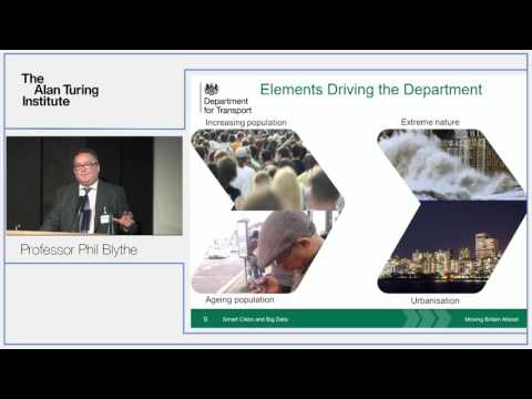Turing Lecture: Chief Scientific Advisor for the Department of Transport, Phil Blythe