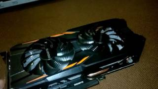 Gigabyte  GeForce GTX 1050 TI Windforce OC 4GB GDDR5 (128bit)