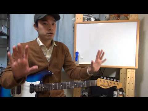 ギターレッスン【左手首が痛い時に見る動画】