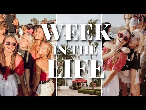 College Week in the Life at SDSU: first tailgate, meningitis outbreak, surfing class