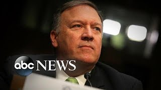 """Pompeo calls oil attack an """"act of war,"""" airline mechanic suspected of ISIS ties l ABC News"""