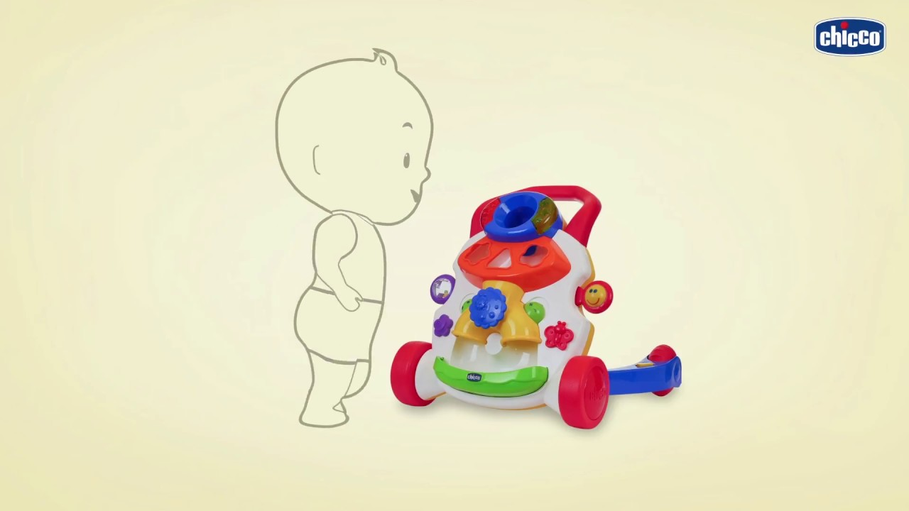 BABY STEPS ACTIVITY WALKER DEMO VIDEO CHICCO