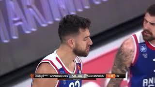 16.11.2018 / Anadolu Efes - Panathinaikos OPAP / Vasilije Micic