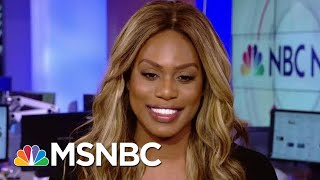 Laverne Cox: 'We Can Fight' Rollback Of Transgender Rights | Hallie Jackson | MSNBC