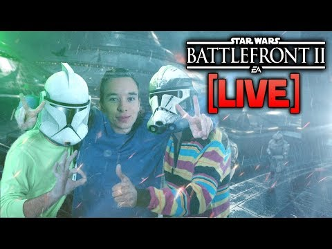 ⚡BATTLEFRONT 2 LIVE  - The Squad System Is Here, Let\'s Test It Out!
