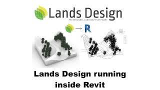 Lands Design running inside Revit
