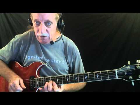 """Learn How to Play """"Feelin' Alright"""" - Blues Guitar Lesson - Red Lasner"""