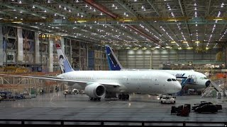 First Norwegian 787-9 Rolling Out of The Factory