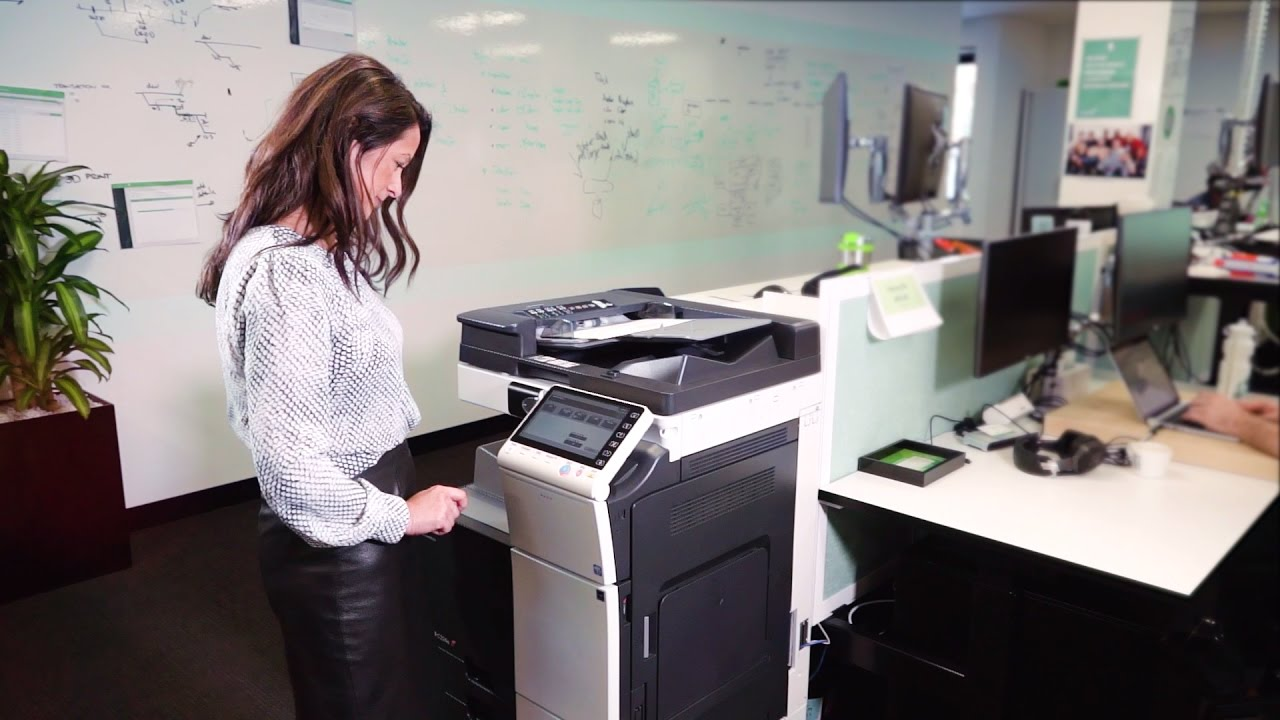 PaperCut MF - print, copy and scanning control for Konica