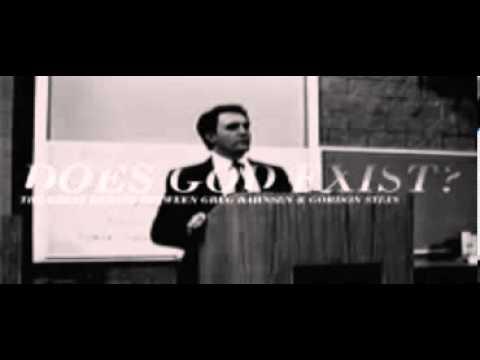 Dr. Gordon Stein (Athiest) vs Dr Greg Bahnsen (Jesus follower)