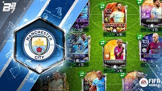 FULL MAN CITY SPECIAL CARD SQUAD! | FIFA MOBILE