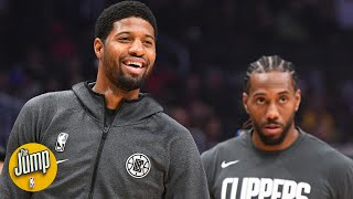 'Defensively, oh my goodness' - Tracy McGrady on the Kawhi/Paul George debut | The Jump