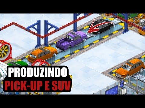 VAMOS PRODUZIR PICK-UP E SUV - PRODUCTION LINE CAR SIMULATOR #08 PT-BR (PC)