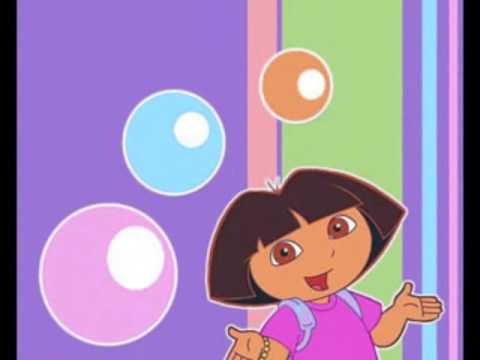 dora the explorer song popping bubbles - cancion de dora