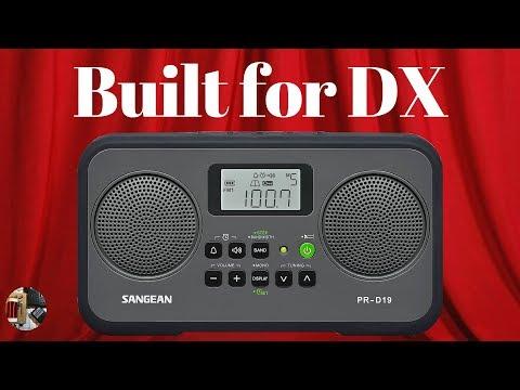 Sangean PR-D19 AM FM Stereo Radio   Full Review