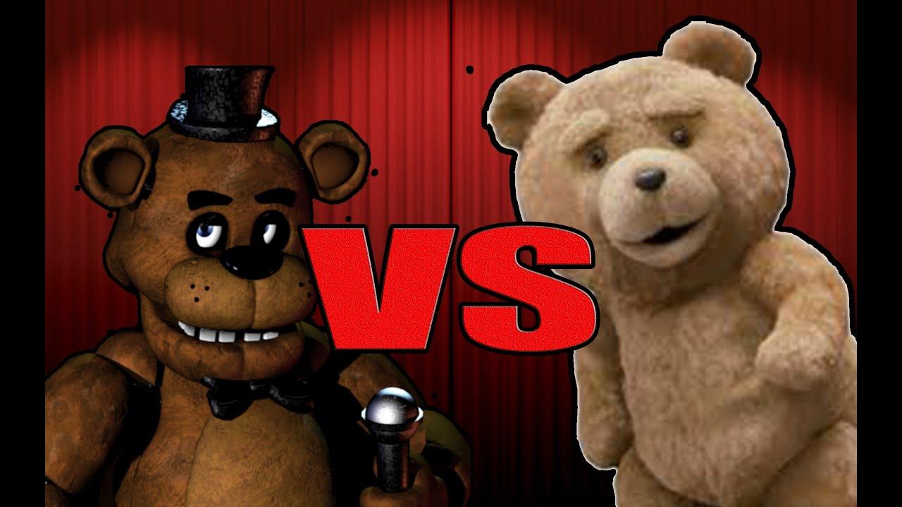 FREDDY FAZBEAR VS EL OSO TED
