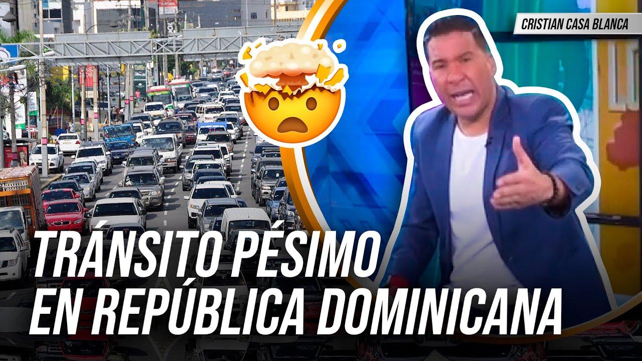 TRÁNSITO PÉSIMO EN REPUBLICA DOMINICANA!!