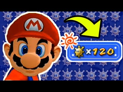 100% Completion Rewards in Super Mario Sunshine - ALL 120 Sh