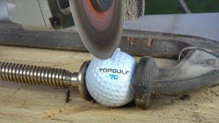 What's inside a TOPGOLF Golf Ball?