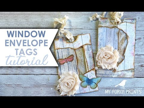 Window Envelope Tags Tutorial My Porch Prints thumbnail