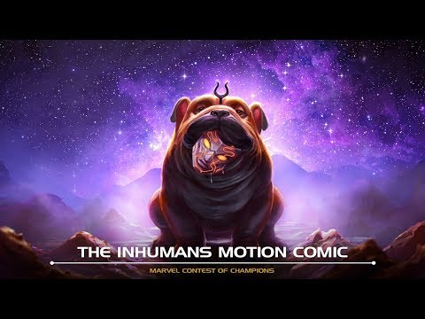 The Inhumans Motion Comic | Marvel Contest of Champions