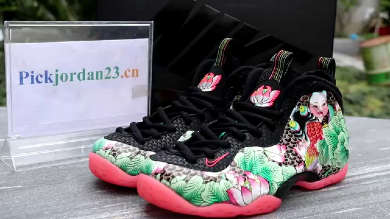 low priced 8e8b9 807e8 Nike Air Foamposite One CHINA Tianjin Shoes Review From PickJordan23.ru -  YouTube