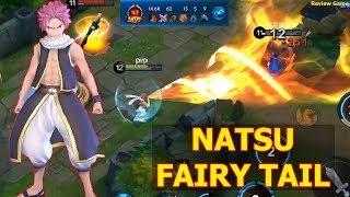 Đấu Trường Vinh Quang - Hero Natsu Fairy Tail Với Sức Mạnh LỬA Thiêu Đốt Mọi Thứ Hành SML Team Địch