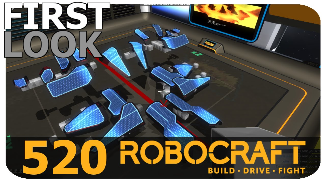 Robocraft First Look - New Tier 10 Shields! - YouTube
