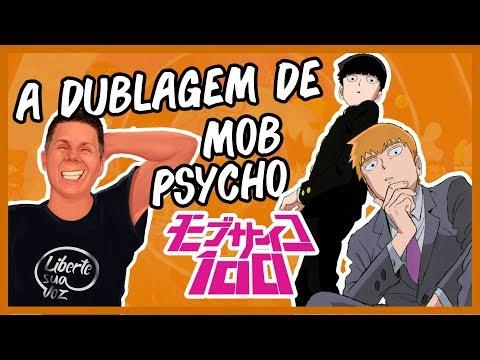 A Dublagem De MOB PYCHO 100! (com Ítalo Luiz E Úrsula Bezerra)
