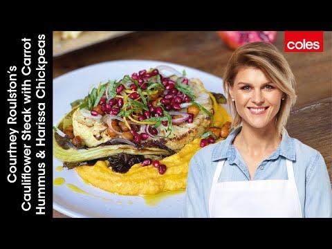 Vegan Cauliflower Steak with Courtney Roulston