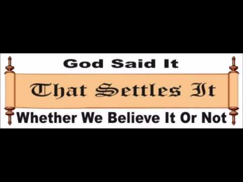 Pastor Andrew Hamilton funeral sermon-The Whole Truth of the word of God