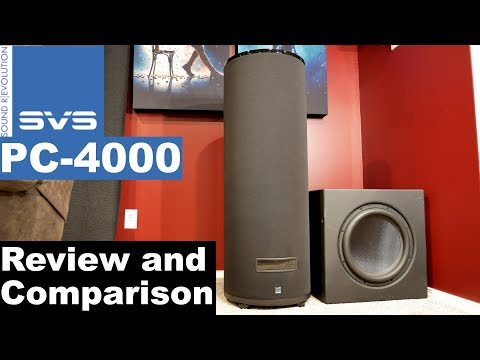 SVS PC-4000 Subwoofer Review, Measurements, and Comparison to DIY Dayton Ultimax 15