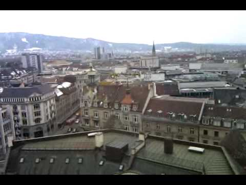 View from Jules Verne bar, Zürich