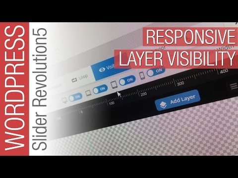 How To Configure Responsive Layer Visibility in Slider Revolution 5