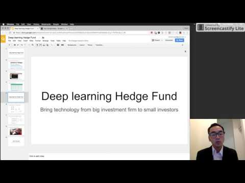 Deep Learning Hedge Fund