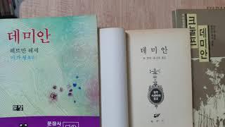 데미안 줄거리 서평 책리뷰 1