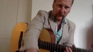 Streets of Laredo, Cordoba C1M Classical Guitar, Shure SM58, Tu Stone Linen-Rich Tailored Fit Suit