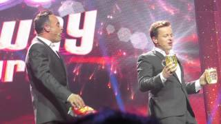 Ant And Dec's Saturday Night Takeaway On Tour - Beer And Crisps Ft. Keith Lemon - Leeds - 12/08/2014