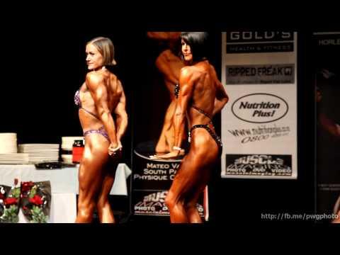 Open Figure, Compulsory Poses - 2011 INBA South Pacific Champs